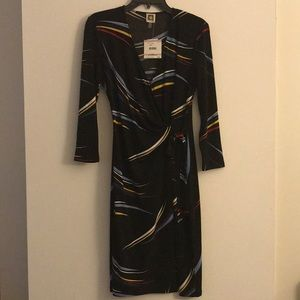 New with tags Anne Klein faux wrap dress!